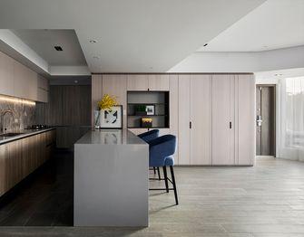140平米复式现代简约风格厨房设计图