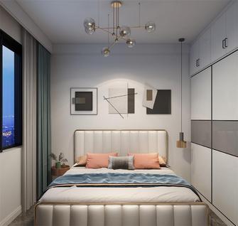 60平米混搭风格卧室装修案例