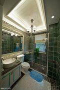豪华型140平米别墅美式风格卫生间设计图