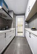 80平米地中海风格厨房图片大全