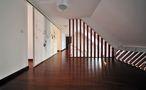 豪华型140平米三室三厅田园风格阁楼装修图片大全
