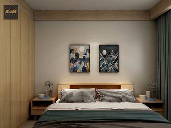 富裕型80平米日式风格卧室图