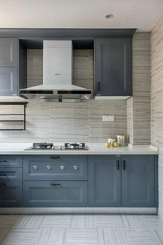 130平米混搭风格厨房图片大全
