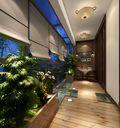 140平米三室两厅东南亚风格阳台效果图