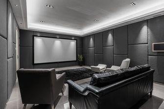140平米北欧风格影音室图