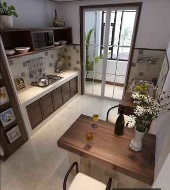 10-15万110平米三室两厅东南亚风格厨房欣赏图
