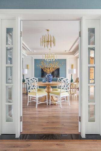 140平米三室四厅混搭风格餐厅图片