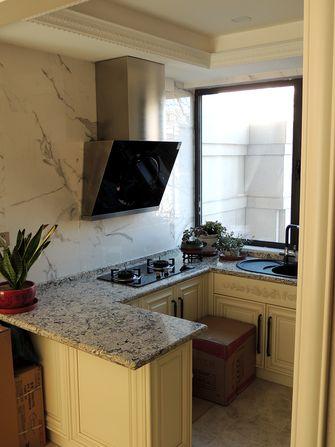 140平米三室四厅法式风格厨房设计图
