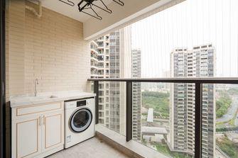 100平米三室两厅现代简约风格阳台图片大全