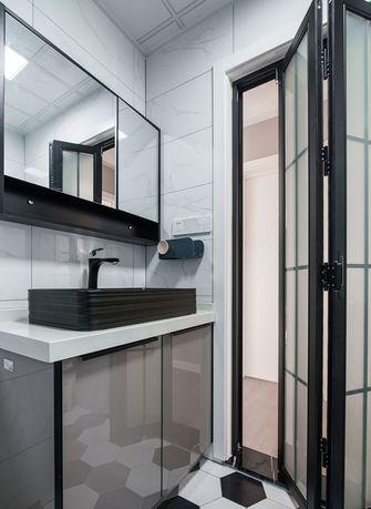 70平米一室两厅中式风格卫生间装修案例