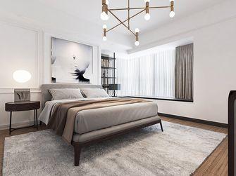 140平米三室两厅英伦风格卧室图片大全