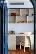 经济型100平米地中海风格儿童房装修案例
