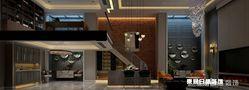 140平米四室三厅欧式风格楼梯间图片