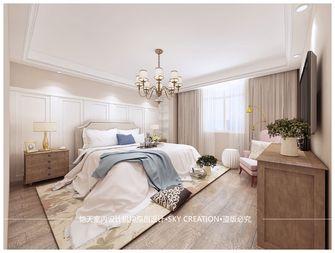 130平米三室一厅混搭风格卧室图片