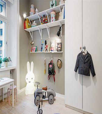 80平米三室一厅北欧风格儿童房设计图