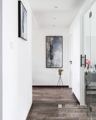 80平米三室两厅北欧风格走廊装修效果图