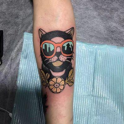 猫咪纹身款式图