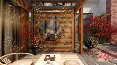中式风格阳光房装修案例