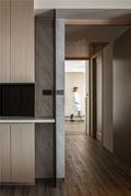 130平米三室一厅日式风格走廊图