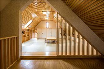 豪华型140平米别墅中式风格阁楼装修案例