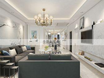 120平米三美式风格客厅欣赏图