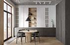 70平米一室一厅混搭风格餐厅装修效果图