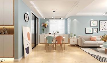 100平米三室两厅北欧风格餐厅图片大全