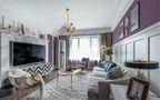 90平米公寓美式风格客厅效果图