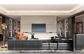 110平米公寓欧式风格客厅设计图