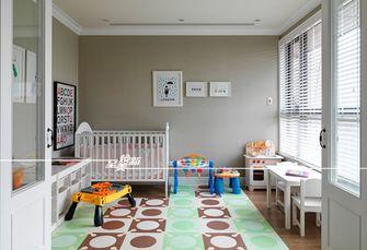 110平米英伦风格儿童房装修案例