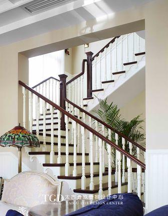 20万以上140平米别墅美式风格楼梯装修效果图