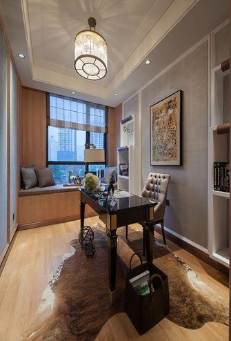 130平米三室两厅新古典风格书房效果图