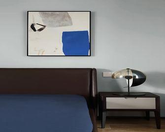 120平米三室一厅英伦风格卧室效果图