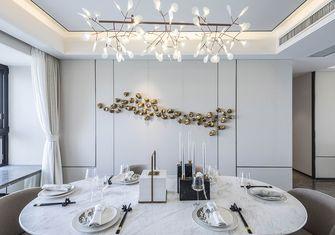 120平米复式中式风格餐厅设计图