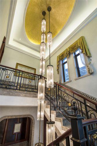 豪华型140平米别墅混搭风格楼梯图