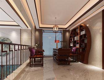 140平米三中式风格阁楼设计图
