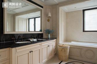140平米复式美式风格卫生间装修图片大全