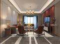 110平米三室三厅中式风格客厅装修案例