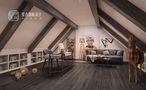 140平米别墅中式风格阁楼装修案例