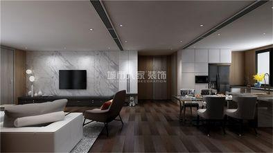 130平米四室两厅现代简约风格客厅图片