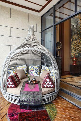 140平米别墅东南亚风格阳光房效果图