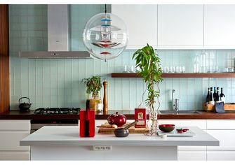 110平米三室两厅田园风格厨房装修图片大全