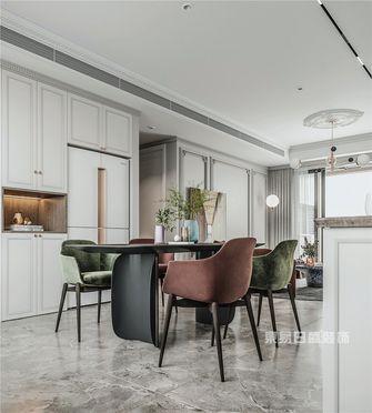 120平米三室两厅法式风格餐厅装修案例