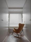 110平米三室两厅北欧风格衣帽间设计图
