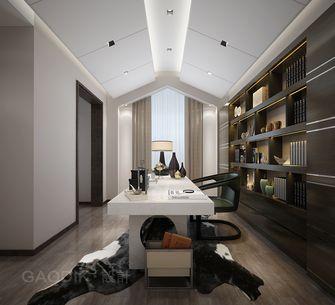 140平米复式混搭风格书房欣赏图