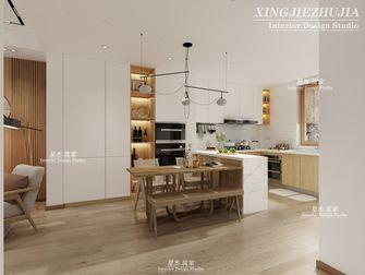 140平米别墅日式风格餐厅图