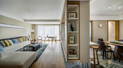 130平米三室两厅中式风格走廊图