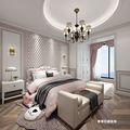30平米小户型美式风格卧室图