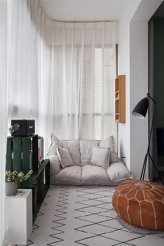 110平米三室两厅北欧风格阳台图片大全