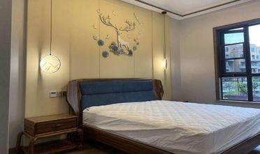 130平米四室两厅中式风格卧室欣赏图